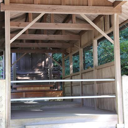 Yamato Okunitama Jinja Shinto Shrine: Hall of worship
