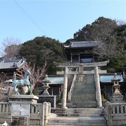 Nushima Hachiman Jinja Shinto Shrine