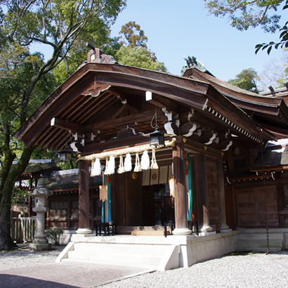 Izanagi-jingu Shinto Shrine: Inner gate
