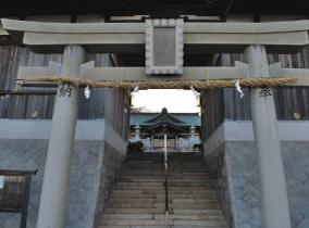 Iwaya Jinja Shinto Shrine