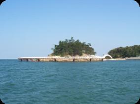 Maruyama Sea Fishing Park in Minamiawaji